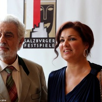 Anna Netrebko, Placido Domingo